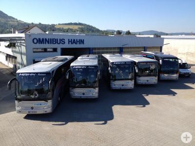 Busflotte Hahn-Reisen