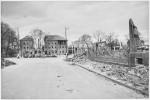 Zerstörte Bahnhofsumgebung, 1945, Stadtarchiv, Foto Dohm