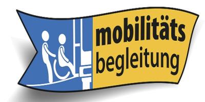 Zu sehen ist das Logo der Mobilitätsbegleitung.