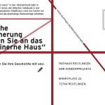 Postkarte mit Frage zur Häuserzeile Oberamteistraße