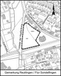 Geltungsbereich Bebauungsplan Hinter der Hopfenburg