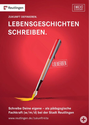 Plakat Marketingkampagne für Pädagpgische Fachkräfte