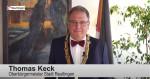 Oberbürgermeister Thomas Keck bei seiner Schwörtagsrede 2020