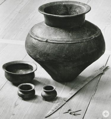 Grabinventar der Hallstatt-Zeit aus Reutlingen-Betzingen