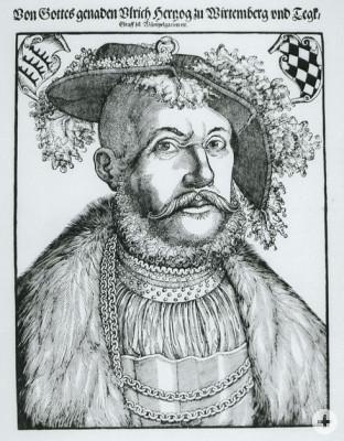 Herzog Ulrich von Württemberg