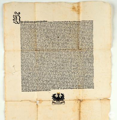 Schirmvertrag von 1505 sowie Herzog Ulrich von Württemberg (1487-1550)