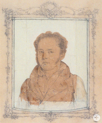 Friedrich List im Alter von 28 Jahren als Professor in Tübingen
