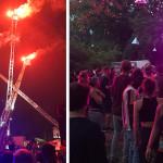 Colage von verschiedenen Veranstaltungen in Reutlingen - links Vorabend-Band Schwörtag, mittig Nacht der offenen Türe Feuerwehr, rechts connect Festival