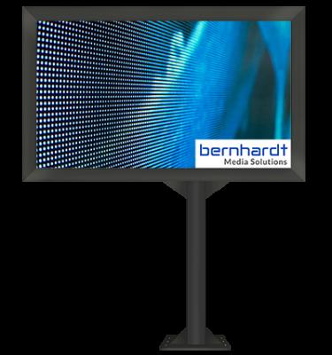 LED-Wand freistehend