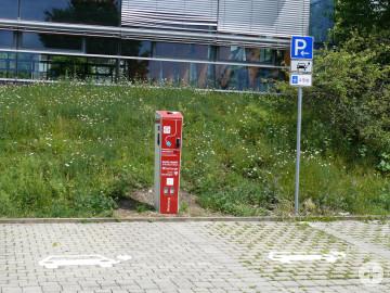 Ladesäule Sporthalle Mittelstadt