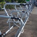Neue Fahrrad-Abstellanlagen am Reutlinger Bahnhof