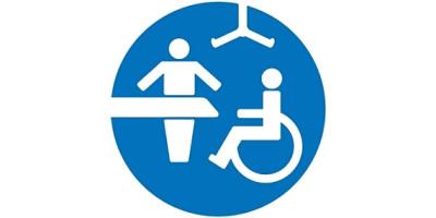 Das Bild zeigt das Logo der Toilette für alle.