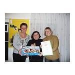 Christine Poskowski - Leiterin des Kinderhauses Kurrerstraße, Yildiz Sahin - Elternbeirätin, Sigrid Hähnel - päd. Fachkraft im Kinderhaus Kurrerstraße