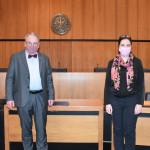 Oberbürgermeister Thomas Keck und Generalkonsulin Sandra Simovich