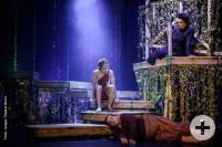 Das Bild zeigt Tarzan und Jane auf der Bühne