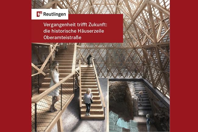 Titelseite der Broschüre zur Oberamteistraße