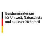 Logo des Bundes mit Adler und schwarz rot goldenem Balken mit Schriftzug