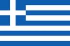 Griechisch - Flagge von Griechenland