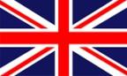 Englisch - Flagge von Großbritannien