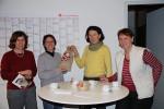 von rechts nach links: Christel Hammer, Angelika Sauer, Karin Weible-Unger und Ursula Weber