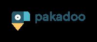 Logo mit kakadu und Firmenaufschrift pakadoo