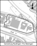 Geltungsbereich Bebauungsplan Carl-Zeiss-Straße