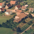 Luftbild von Rommelsbach, Ermstalstraße, 1968