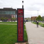 Fahrrad-Zählstation am Tübinger Tor