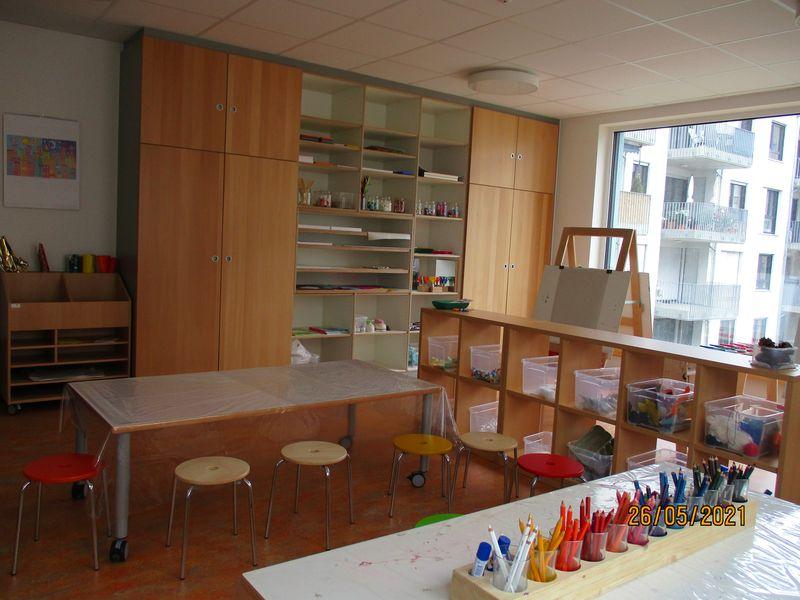 Städtisches Kinderhaus Alice-Haarburger-Straße - Das Atelier
