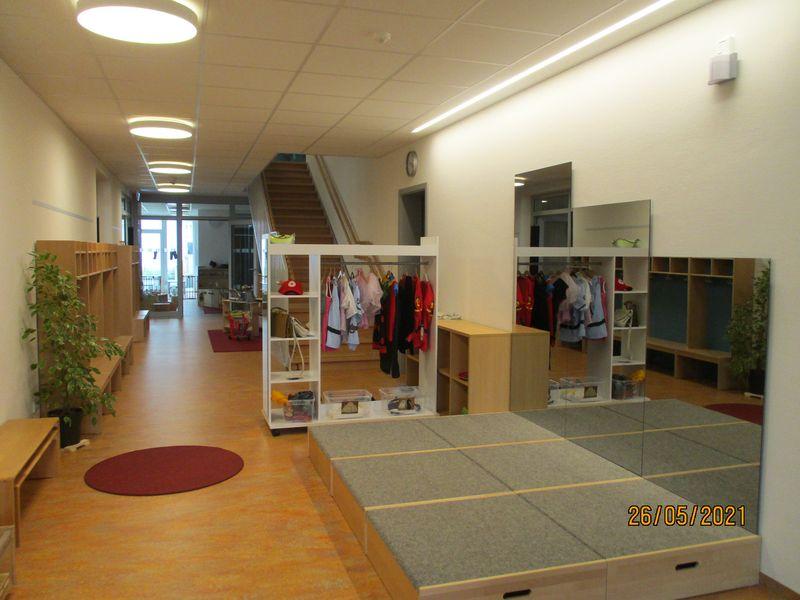 Einblicke in den Rollenspielbereich - Städtisches Kinderhaus Alice-Haarburger-Straße