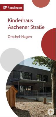 Titelbild Flyer Städtisches Kinderhaus Aachenerstraße