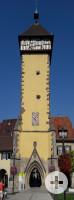 Auf dem Foto ist das Tübinger Tor zu sehen