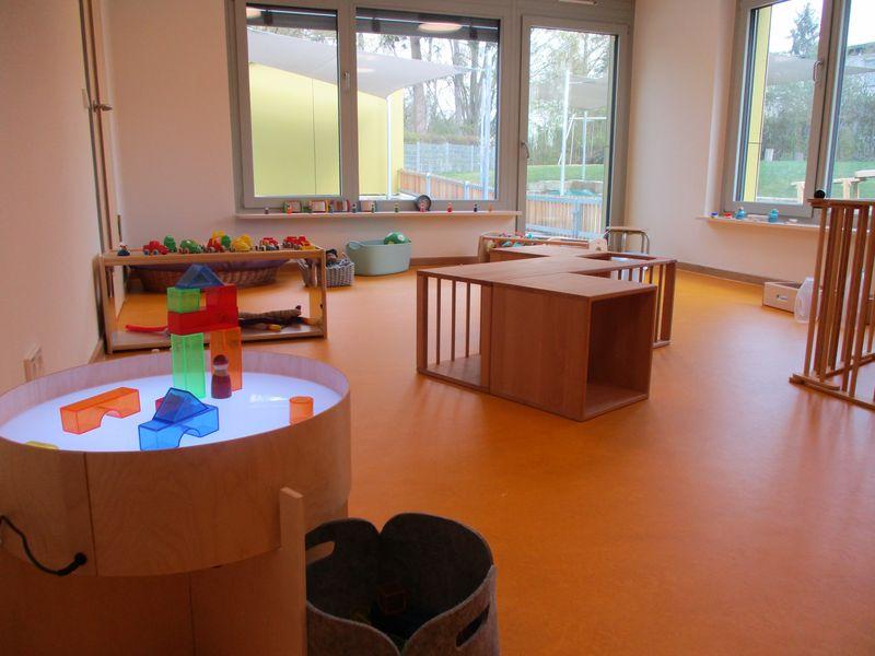 Städtisches Kinderhaus Aachener Straße - Spielraum der Krippe