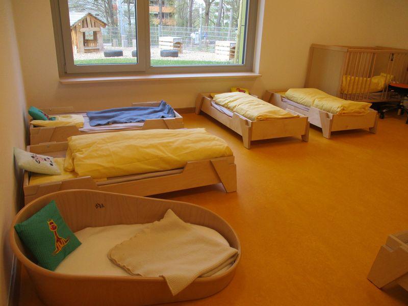 Städtisches Kinderhaus Aachener Straße - Schlafbereich der Krippe