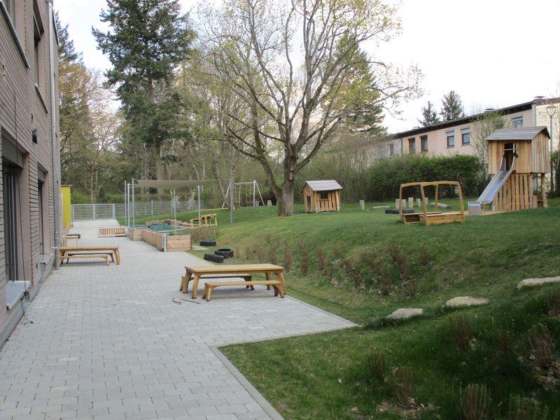 Städtisches Kinderhaus Aachener Straße - Garten