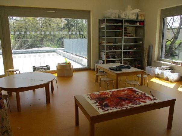 Städtisches Kinderhaus Aachener Straße - Atelier