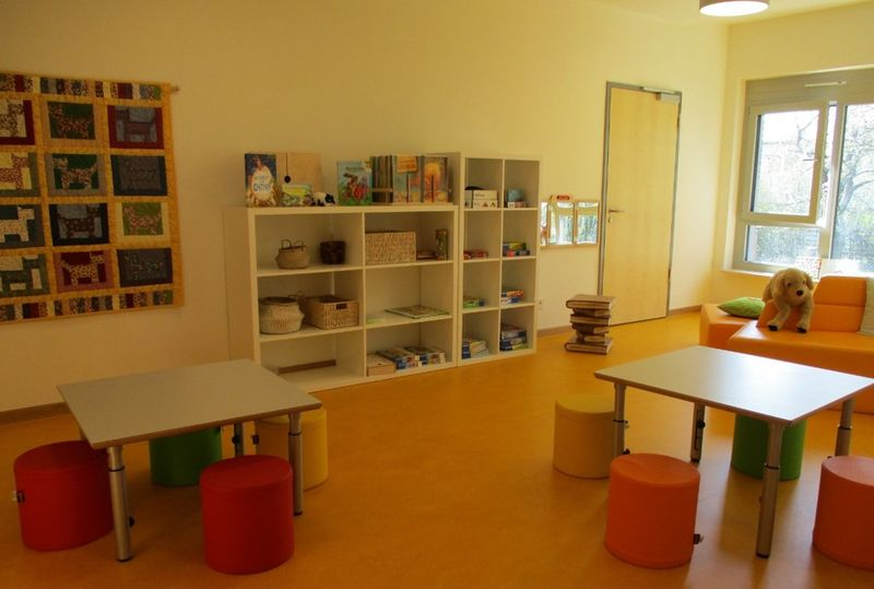 Städtisches Kinderhaus Aachener Straße - Bibliothek