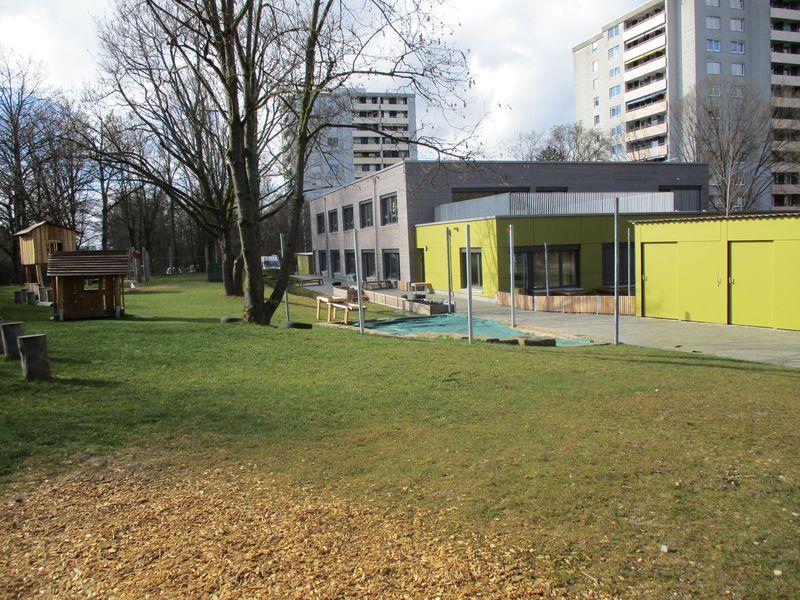 Städtisches Kinderhaus Aachener Straße - Gartenansicht