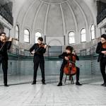 Auf dem Foto ist das vision string quartet zu sehen