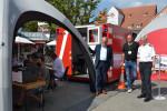 Impfaktion auf dem Reutlinger Marktplatz