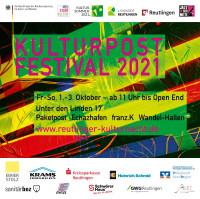 Plakat des Kulturpost Festivals