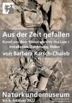 """Plakat zur Ausstellung """"Aus der Zeit gefallen"""""""