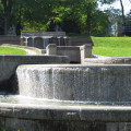 Die Wasserachse im Volkspark - Foto: Stadt Reutlingen