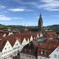 Über den Dächern von Reutlingen im Hintergrund die Marienkirche - Foto: Stadt Reutlingen