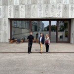 OB Keck vor dem Stadtmuseum in Aarau
