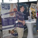 Messerundgang: OB Thomas Keck im Gespräch mit Gründer Nico Andel