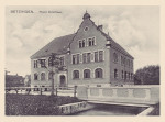 Die Hofmannschule vor 100 Jahren.