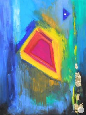 """""""Diamant"""" Ölbild von Frank Christoph Schnitzler 2009"""