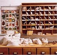 Die Packstube im Samenhandelsmuseum