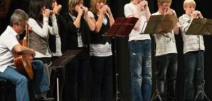 Mundharmonika-Gruppe der Schiller-Schule